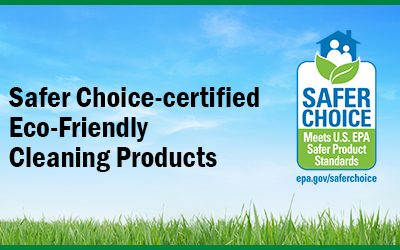 Eco-friendly EPA Safer Choice-certified Products