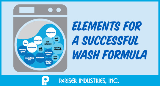 Elements for a successful wash formula