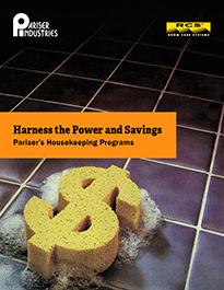 Harness the Power and Savings - Pariser's Housekeeping Programs