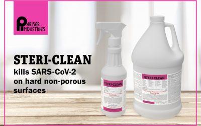 Using STERI-CLEAN Against SARS-CoV-2, COVID-19
